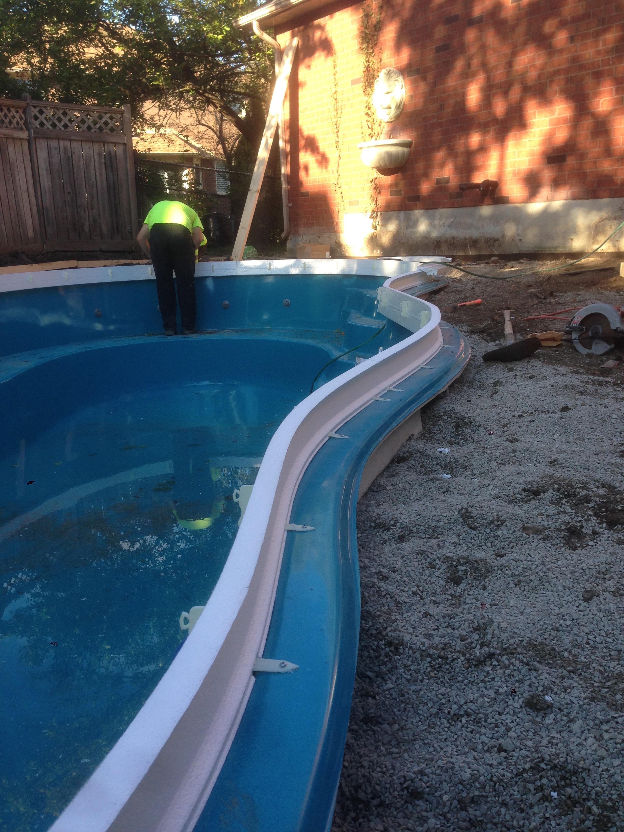 Icc for fibreglass and gunite concrete pools with tile Fibreglass pools vs concrete pools